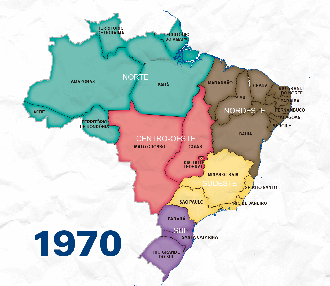 Divide to know: the regional divisions of Brazil | Agência ...
